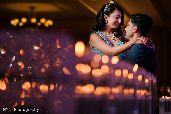 Reception portraits in Bridgewater, NJ Indian Wedding by NYNJ Photography