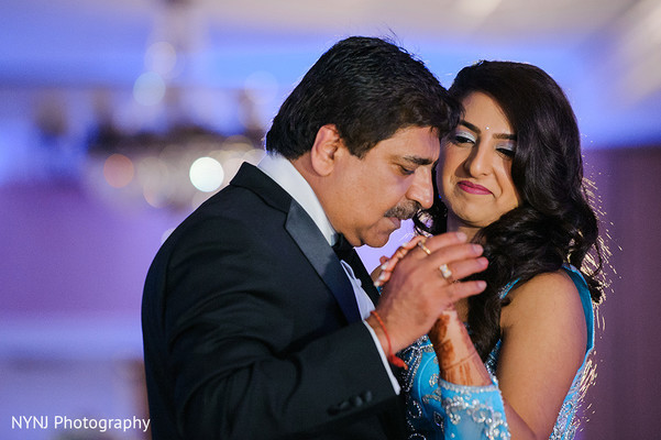 Reception in Bridgewater, NJ Indian Wedding by NYNJ Photography