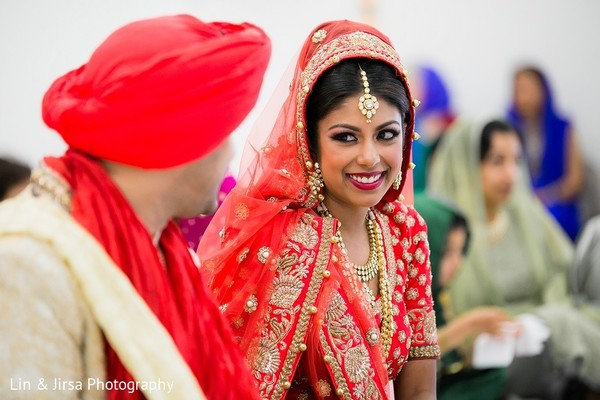 Ceremony in Yorba Linda, CA Indian Wedding by Lin & Jirsa Photography