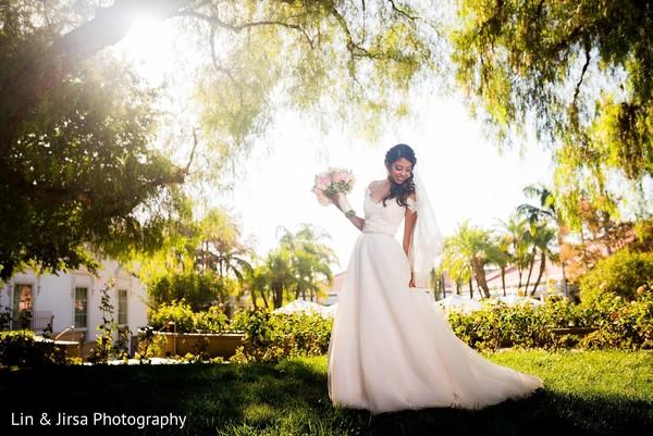 Bridal Fashion in Yorba Linda, CA Indian Wedding by Lin & Jirsa Photography