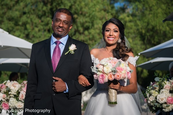 Ceremony in Yorba Linda, CA Indian Wedding by Lin & Jirsa Photography