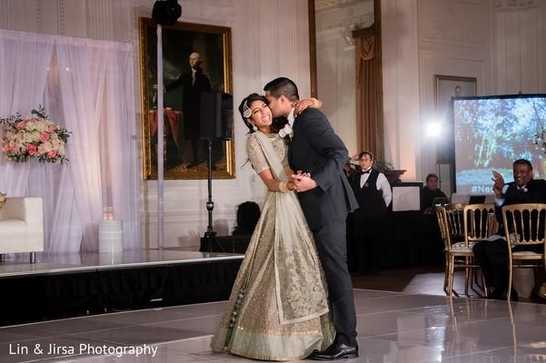 Reception in Yorba Linda, CA Indian Wedding by Lin & Jirsa Photography