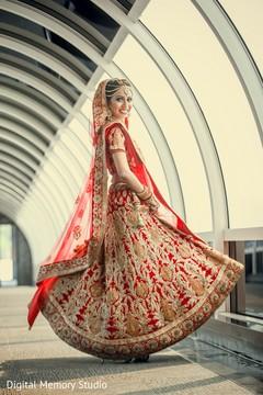 bridal portrait,indian bride,red wedding lengha,red bridal lengha,red lengha,red lehenga,bridal fashions