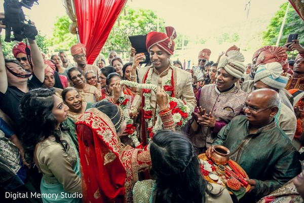 Baraat in Mahwah, NJ Indian Wedding by Digital Memory Studio