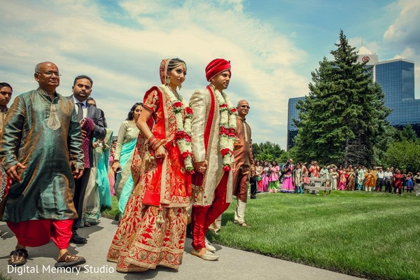 Ceremony in Mahwah, NJ Indian Wedding by Digital Memory Studio