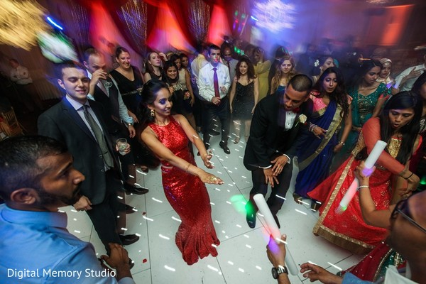 Reception in Mahwah, NJ Indian Wedding by Digital Memory Studio