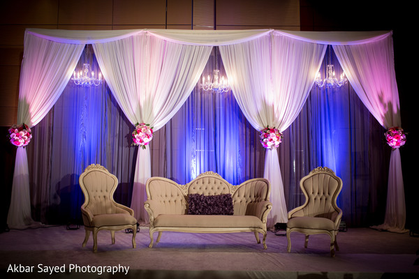 Walima decor in Baltimore, MD Pakistani Wedding by Akbar Sayed Photography