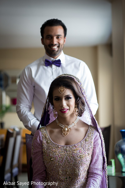 Walima portrait in Baltimore, MD Pakistani Wedding by Akbar Sayed Photography