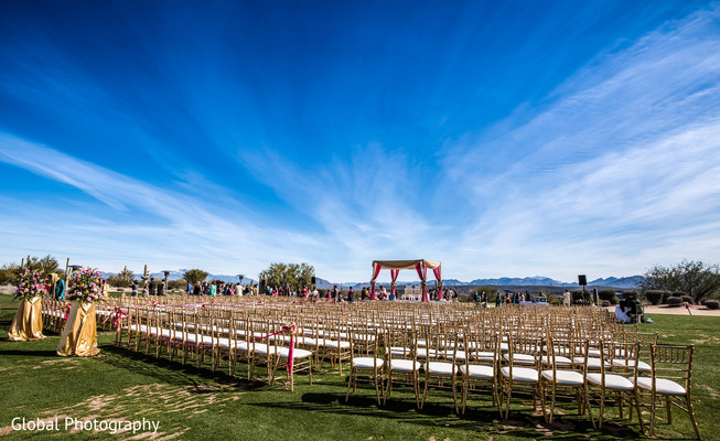 Venue in Scottsdale, AZ Indian Wedding by Global Photography