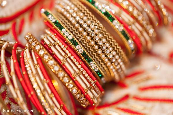Bridal jewelry in Tybee Island, GA Indian Wedding by Garret Frandsen Photography
