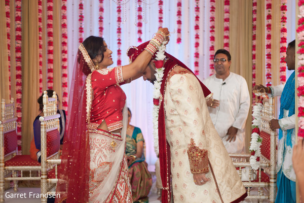 Hindu ceremony in Tybee Island, GA Indian Wedding by Garret Frandsen Photography