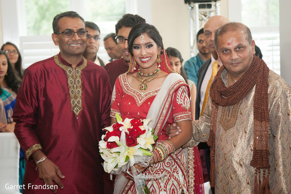 Hindu ceremony in Tybee Island, GA Indian Wedding by Garret Frandsen Photography