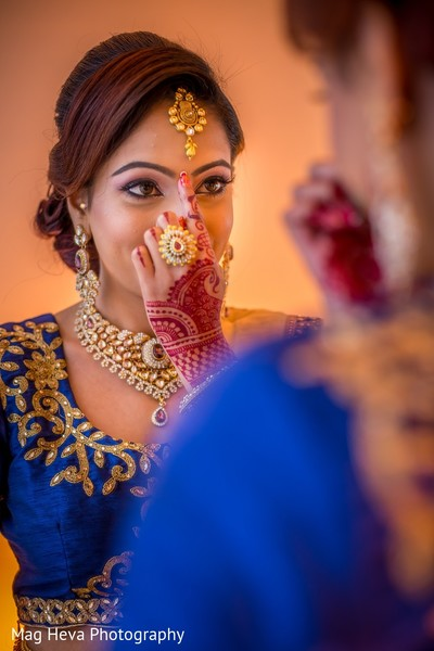 Getting Ready in Klang, Malaysia Indian Wedding by Mag Heva Photography
