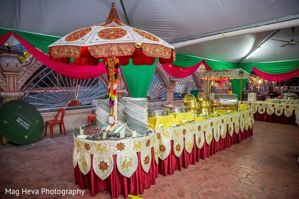 Pre-Wedding Decor in Klang, Malaysia Indian Wedding by Mag Heva Photography