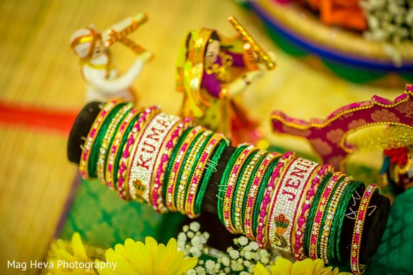 Bridal Jewelry in Klang, Malaysia Indian Wedding by Mag Heva Photography