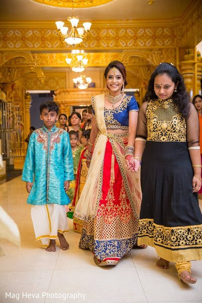 Engagement Ceremony in Klang, Malaysia Indian Wedding by Mag Heva Photography