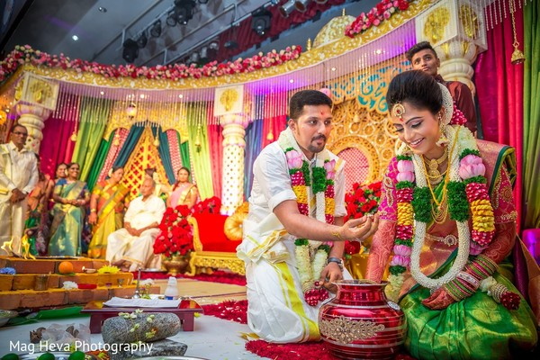Ceremony in Klang, Malaysia Indian Wedding by Mag Heva Photography