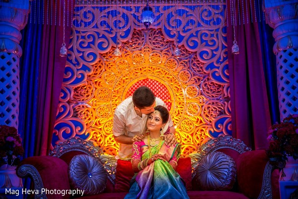 Wedding Portrait in Klang, Malaysia Indian Wedding by Mag Heva Photography