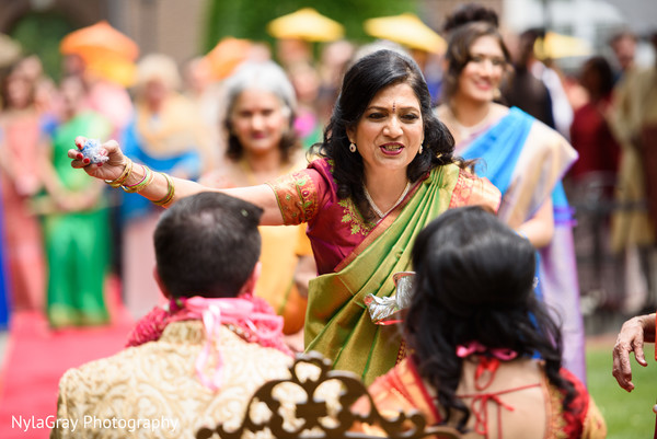 Hindu ceremony in Glen Head, NY Indian Fusion Wedding by NylaGray Photography
