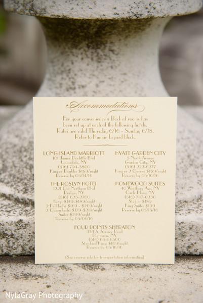 Stationery in Glen Head, NY Indian Fusion Wedding by NylaGray Photography