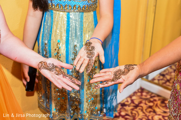 Mehndi in Los Angeles, CA Indian Wedding by Lin & Jirsa Photography