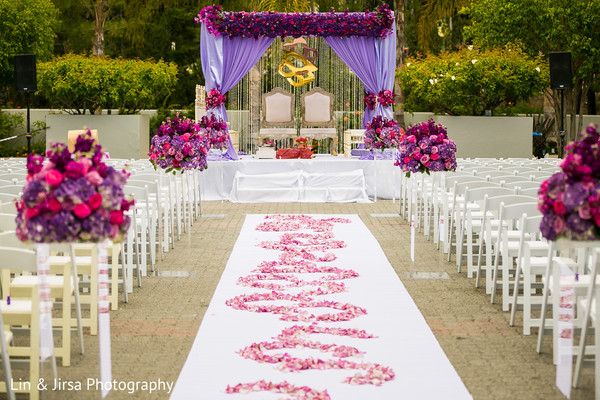 outdoor wedding decor,ceremony decor,mandap,outdoor mandap,aisle decor