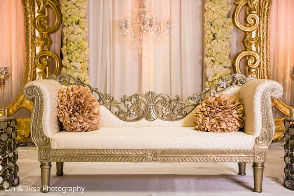 Floral & Decor in Los Angeles, CA Indian Wedding by Lin & Jirsa Photography