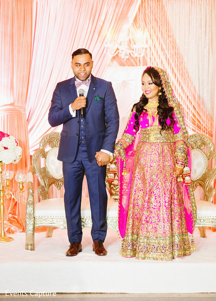 Reception in Flushing, NY Indian Wedding by Events Capture