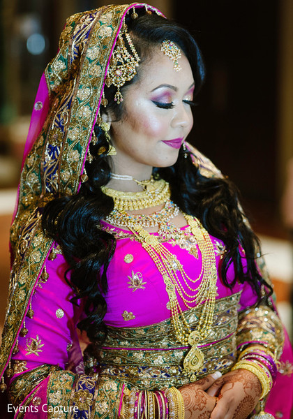 Indian bride in Flushing, NY Indian Wedding by Events Capture