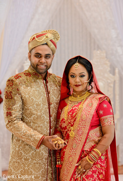 Indian wedding photos in Flushing, NY Indian Wedding by Events Capture