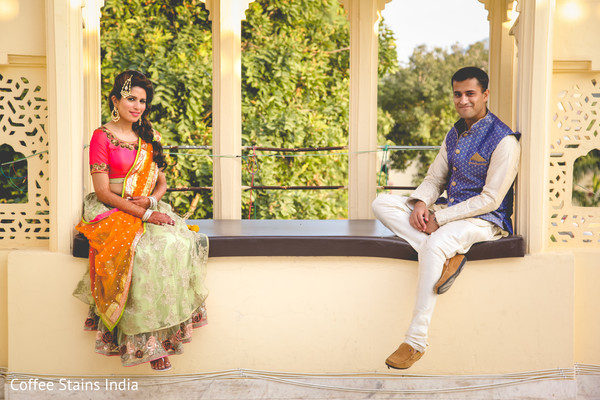 Pre-Wedding Portrait in Alwar, Rajasthan Indian Wedding by Coffee Stains India