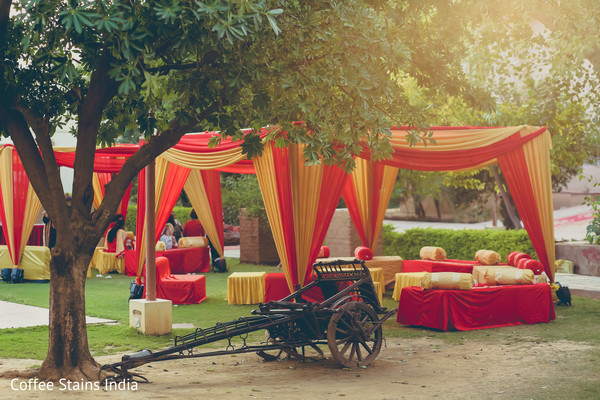 Pre-Wedding Decor in Alwar, Rajasthan Indian Wedding by Coffee Stains India