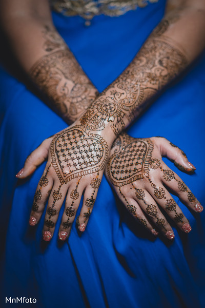 Mehndi in Dallas, TX Indian Wedding by MnMfoto