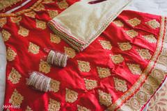 red wedding lengha,red bridal lengha,red lengha,red lehenga,bridal fashions