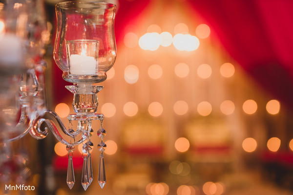 Lighting Elements in Dallas, TX Indian Wedding by MnMfoto
