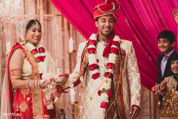 Ceremony in Dallas, TX Indian Wedding by MnMfoto