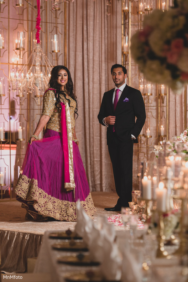 indian wedding reception,reception portraits,reception fashions