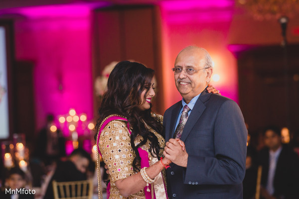 Reception in Dallas, TX Indian Wedding by MnMfoto