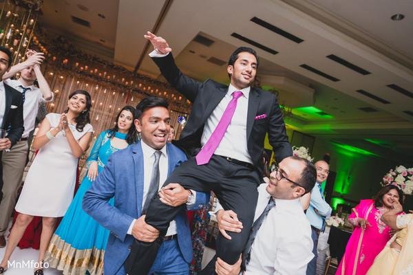 Reception in Dallas, TX Indian Wedding by MnMfoto