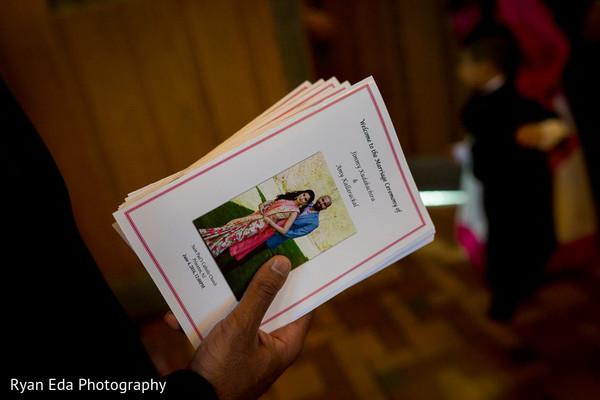 Programs in Edison, NJ Indian Wedding by Ryan Eda Photography
