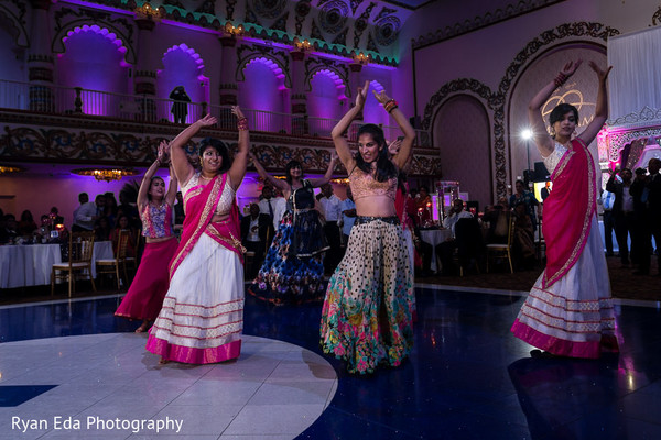 Reception in Edison, NJ Indian Wedding by Ryan Eda Photography