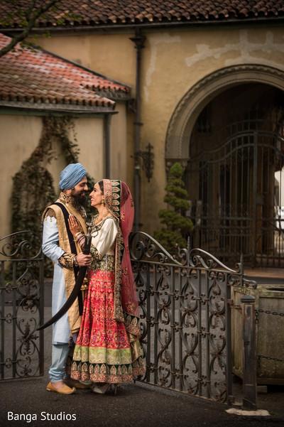 Wedding Portrait in New Rochelle, NY Sikh Wedding by Banga Studios
