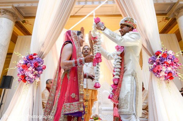 Ceremony in Indianapolis, IN Indian Wedding by The Siners Photography