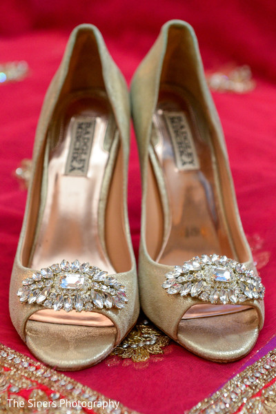 Shoes in Indianapolis, IN Indian Wedding by The Siners Photography
