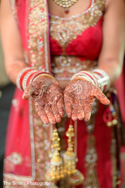 Mehndi in Indianapolis, IN Indian Wedding by The Siners Photography