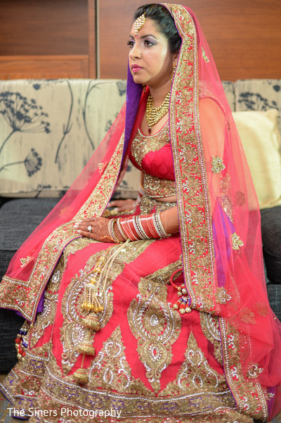 Indian bride in Indianapolis, IN Indian Wedding by The Siners Photography