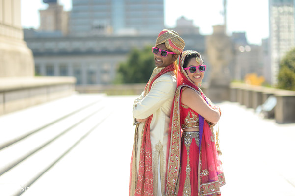 Indian wedding portraits in Indianapolis, IN Indian Wedding by The Siners Photography