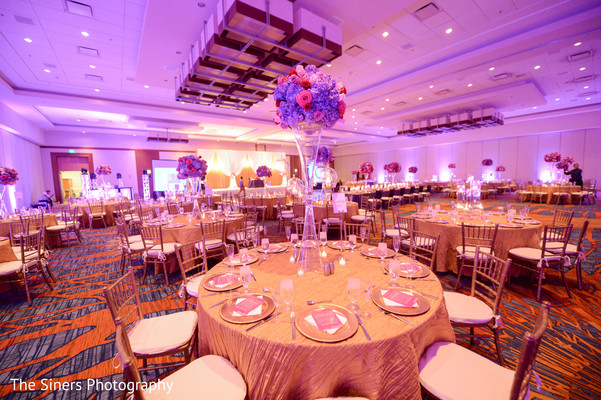 Reception decor in Indianapolis, IN Indian Wedding by The Siners Photography