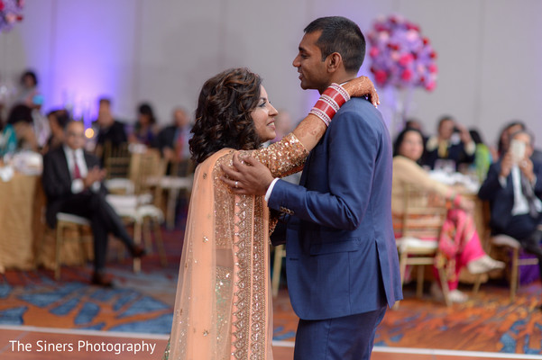 Reception in Indianapolis, IN Indian Wedding by The Siners Photography