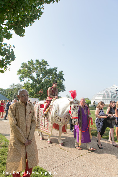 Baraat in Pittsburgh, PA Hindu-Jewish Fusion Wedding by Joey Kennedy Photography